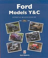 Ford Models Y & C 1932-1937 - Henry's Cars for Europe (Numbers Data) Buch book