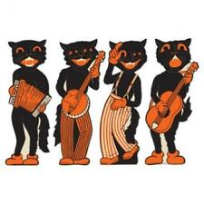 Beistle 4pack Scat Cat Band Cutouts 17inch