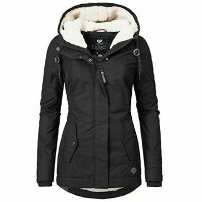 Damen Winter Jacke Stepp Parka Mantel Weiches Teddyfell Futter Warm Gefüttert | eBay