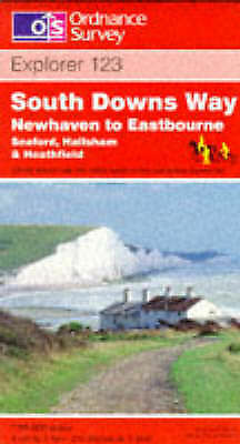 1 of 1 - South Downs Way - Newhaven to Eastbourne (Explorer Maps), Ordnance Survey, Good