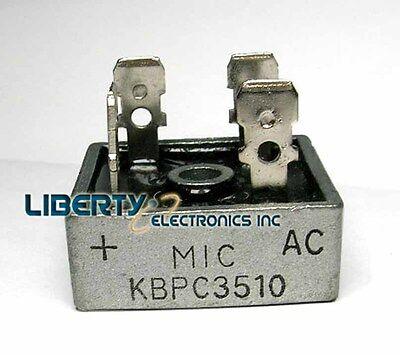 5 pcs KBPC3510 Bridge Rectifier Gleichrichter 1000V AC change DC 35A KBPC-3510