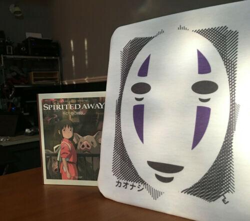 Spirited Away No Face Graphic Art T-Shirt Inspired By Studio Ghibli and Miyazaki