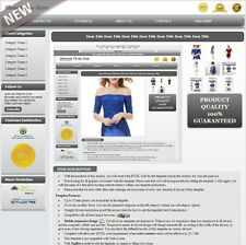 Shiva Buddha EBAY Listing Auction Template No Active Content Mobile - Mobile friendly ebay listing template