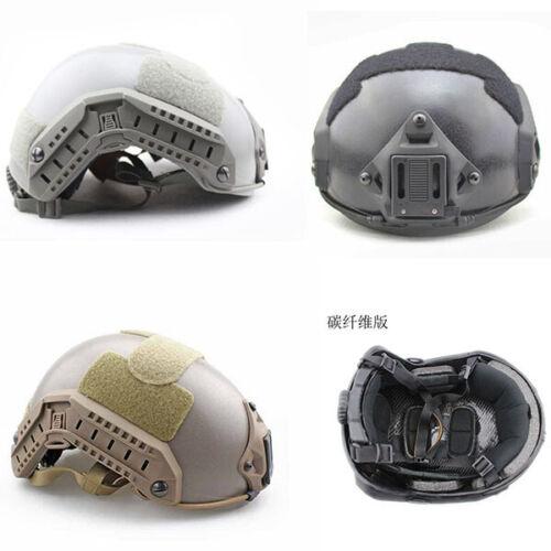Tactical Airsoft Carbon fiber Helmet Maritime CS OPS M//L L//XL