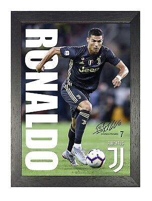Cristiano Ronaldo 54 Portuguese Football Player Poster Sport Star Photo Juventus