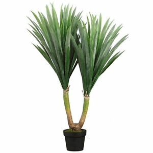 Image Is Loading 43 034 ARTIFICIAL PLANT IN OUTDOOR YUCCA PALM