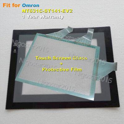 Screen Film for Omron NT631C-ST141-EV2 NT631CST141EV2 1-Year Warranty