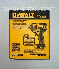 Dewalt 20v Max Cordless Li Ion 12 In Impact Wrench Dcf880b New Tool Only