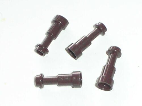 4 x LEGO DkBrown Minifig Utensil Telescope Ref 64644 Set 10193 7946 7199 10210