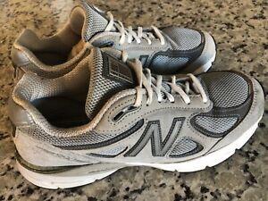 New-Balance-990v4-Women-039-s-Grey-CastleRock-Running-Athletic-Shoes-Size-9