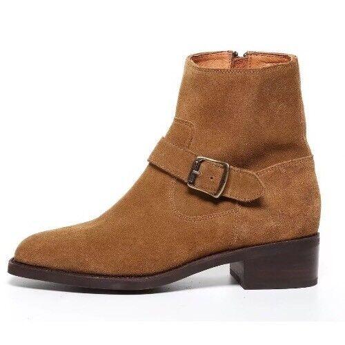 FRYE Women's Brown Side Buckle Ankle Boots 2647* Size 10 B