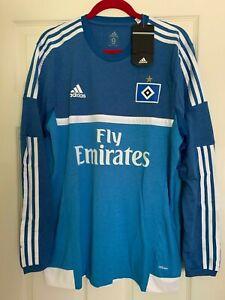 Bnwt Adidas Adizero Player Issue Hsv Hamburg Ls Jersey Shirt Trikot Ebay