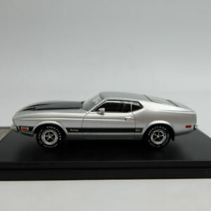 Premium-X-1-43-Ford-Mustang-Mach-1-Silver-1973-Resin-PRD398J-Limited-Edition