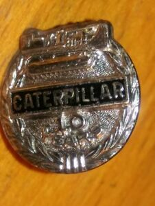 Details about Caterpillar Crawler Tractor Employee 10 Yrs Service Award Pin  STERLING SILVER