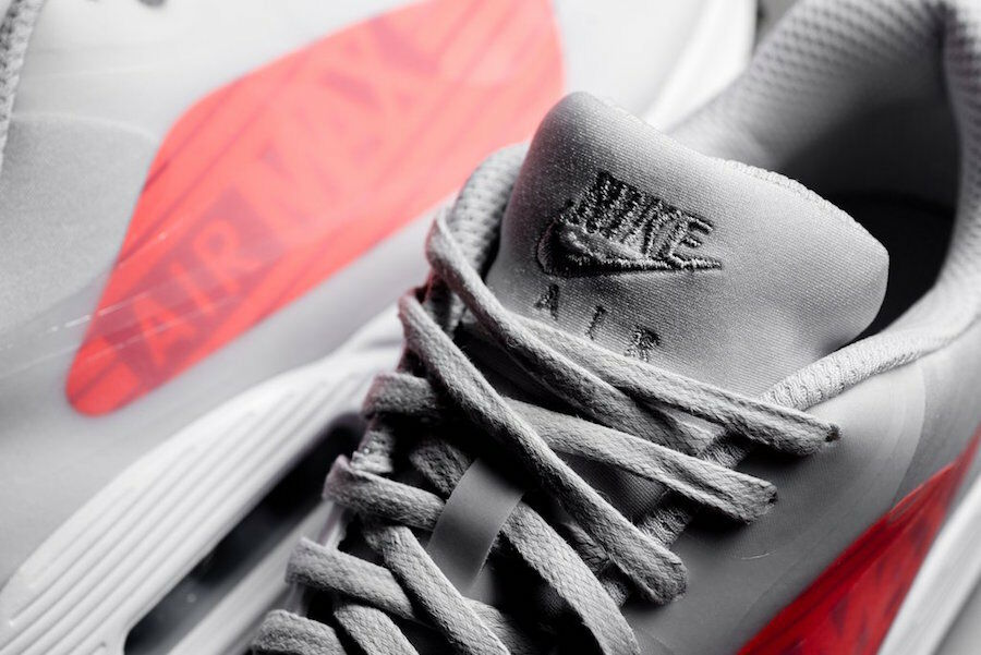Nike Air Max 90 NS GPX BIG LOGO hyper CRIMSON US MENS SHOE SIZES AJ7182-001