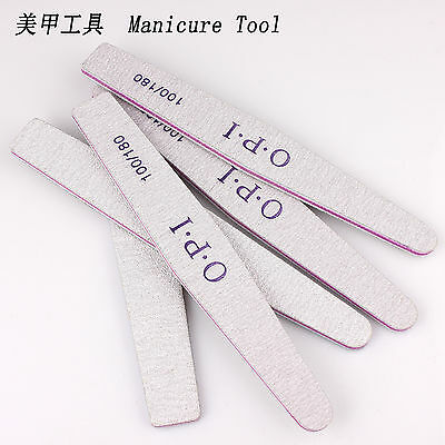 6pcs 100/180 Grit Nail Art Care Manicure Makeup Tool Acrylic Buffer Files Board