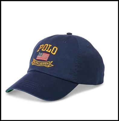 daee179efd47c NWT Polo Ralph Lauren American Flag Baseball Cap