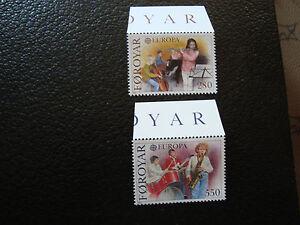 Islands-Faroe-Stamp-Yvert-and-Tellier-N-110-111-N-A22-Stamp
