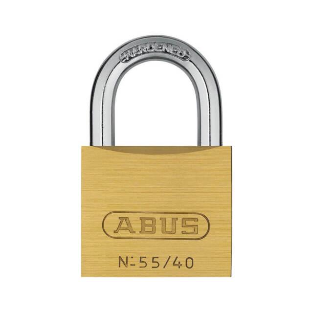 ABUS 55/40 1-1/2 in. Solid Brass Keyed Alike Padlock