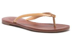 1482211453c34c NIB TORY BURCH Terra Flip Flop Patent Flat Thong Sandal 10.5 Sun ...