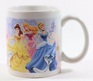 Disney About Cinderella Princess Details Mug Coffee White Jasmine Belle Snow L3Rj5A4