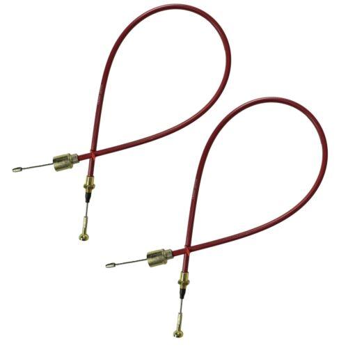 Cables de frein a degagement rapide en acier inoxydable detachables ALKO