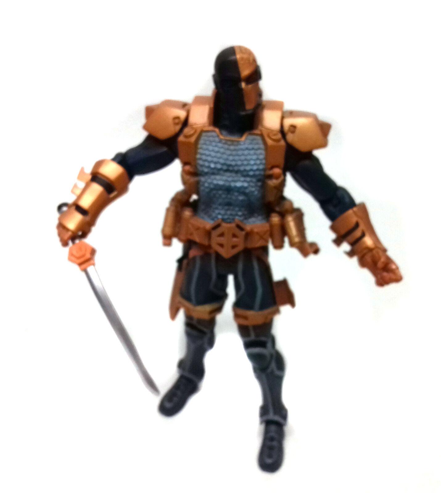 DC Comics Universe DEATHSTROKE 6  action figure RARE, Arrow, batman , Justice