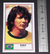 FOOTBALL 1983-1984 EDER BRASIL BRESIL ATLETICO MINEIRO PANINI