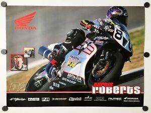 Vintage Poster 2002 Kurtis Roberts CBR 954RR Honda Erion Racing Formula Extreme