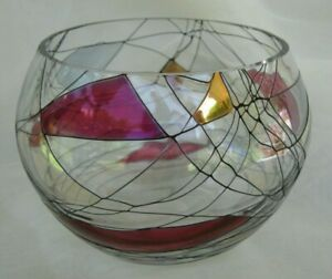 Partylite Mosaic 4 inch Candle Bowl