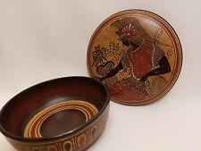 Athena Greek Goddess Rare Hellenic Ancient Art Pottery Jewelry Case Aged