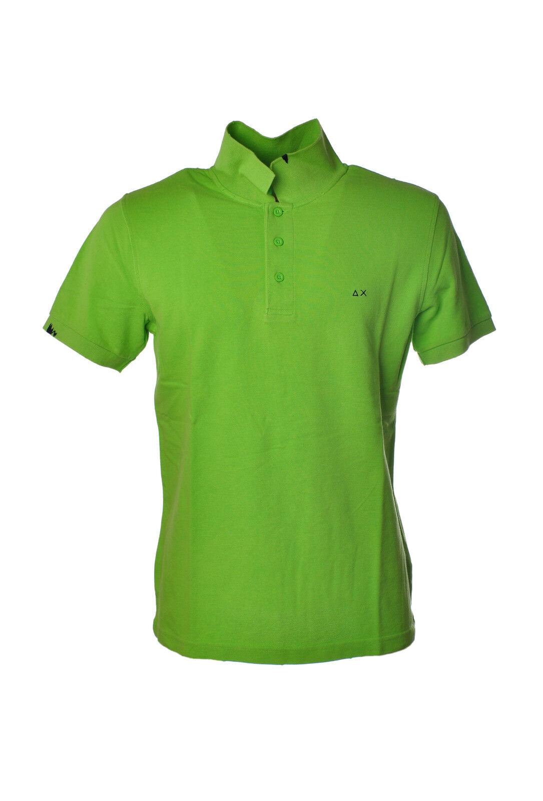 Sun 68  -  Polo - Male - Green - 3186114A184319