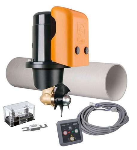 Bootsport Anker & Ketten Quick BTQ110-25 Bugstrahlruder-Kit 12V 25Kgf Druckknopfsteuerung #50810006