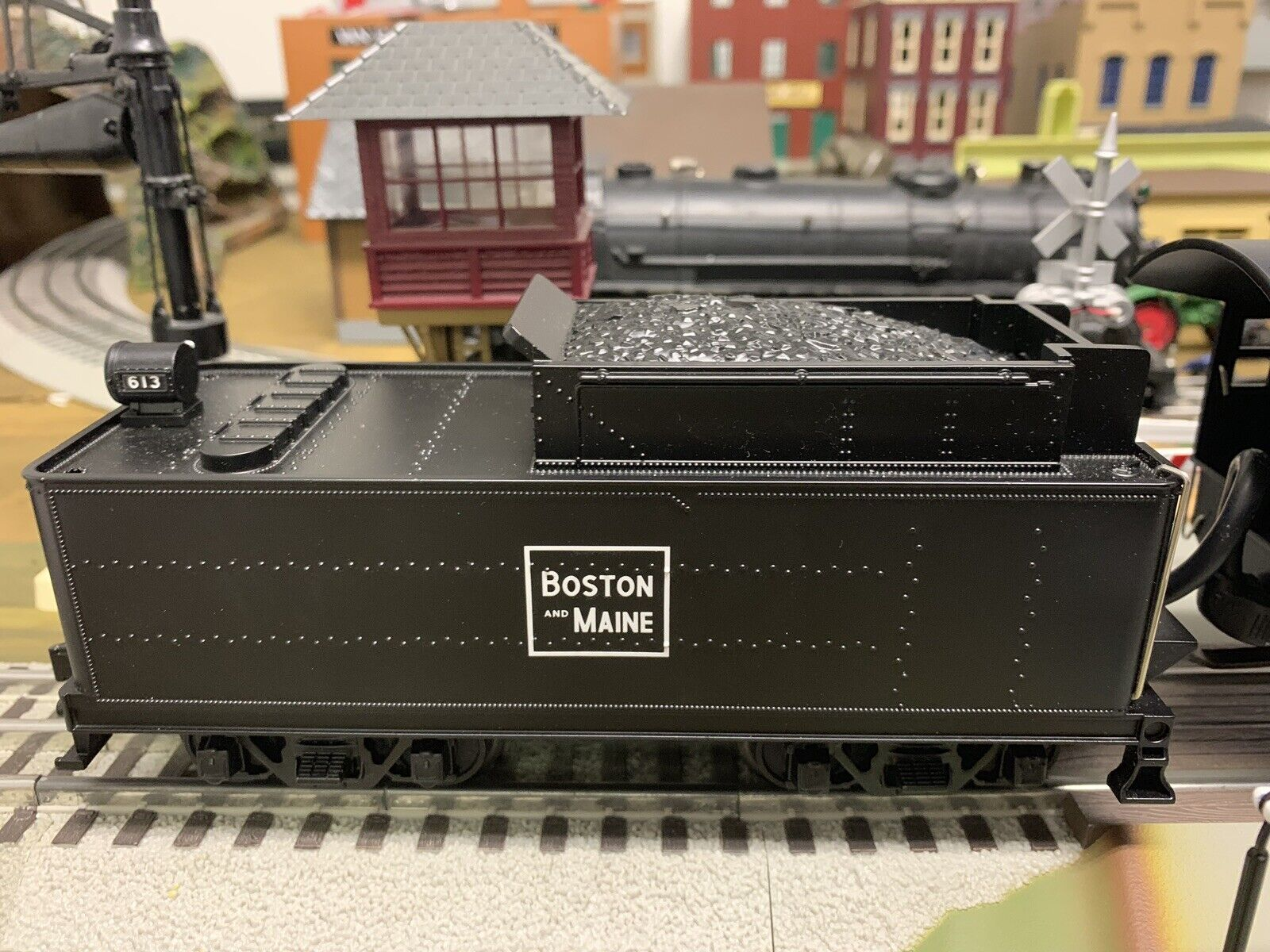 MTH Rail King Boston And Maine 0-8-0 Steam Engine W Proto 2 Lionel Atlas O Scale