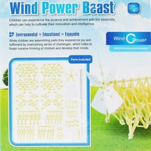 Wind-Powered-DIY-Walking-Walker-Strandbeest-Model-Kits-Novelty-Toy-for-Kids-GT
