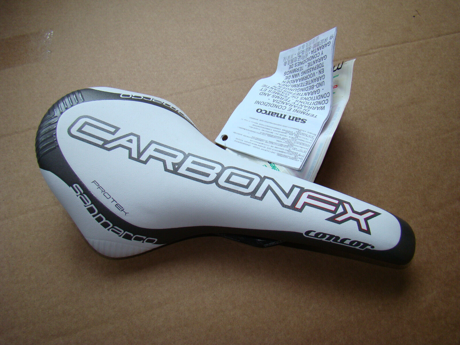 Selle San Marco Concor Carbon FX Prossoek  Bike Bicycle Cycling Saddle