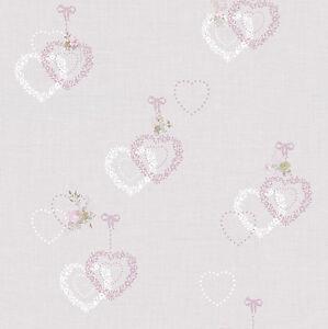 Essener-Tapete-Primavera-2018-2517-Flores-Corazon-Ornamento-Estilo-Rustico