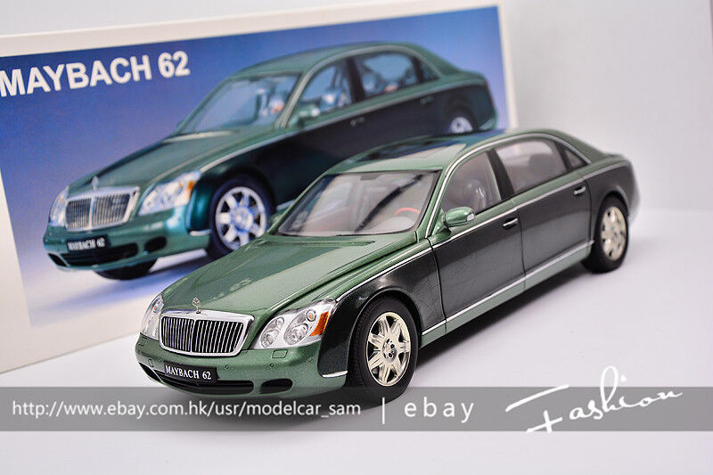 Autoart 1 18 MAYBACH 62 green