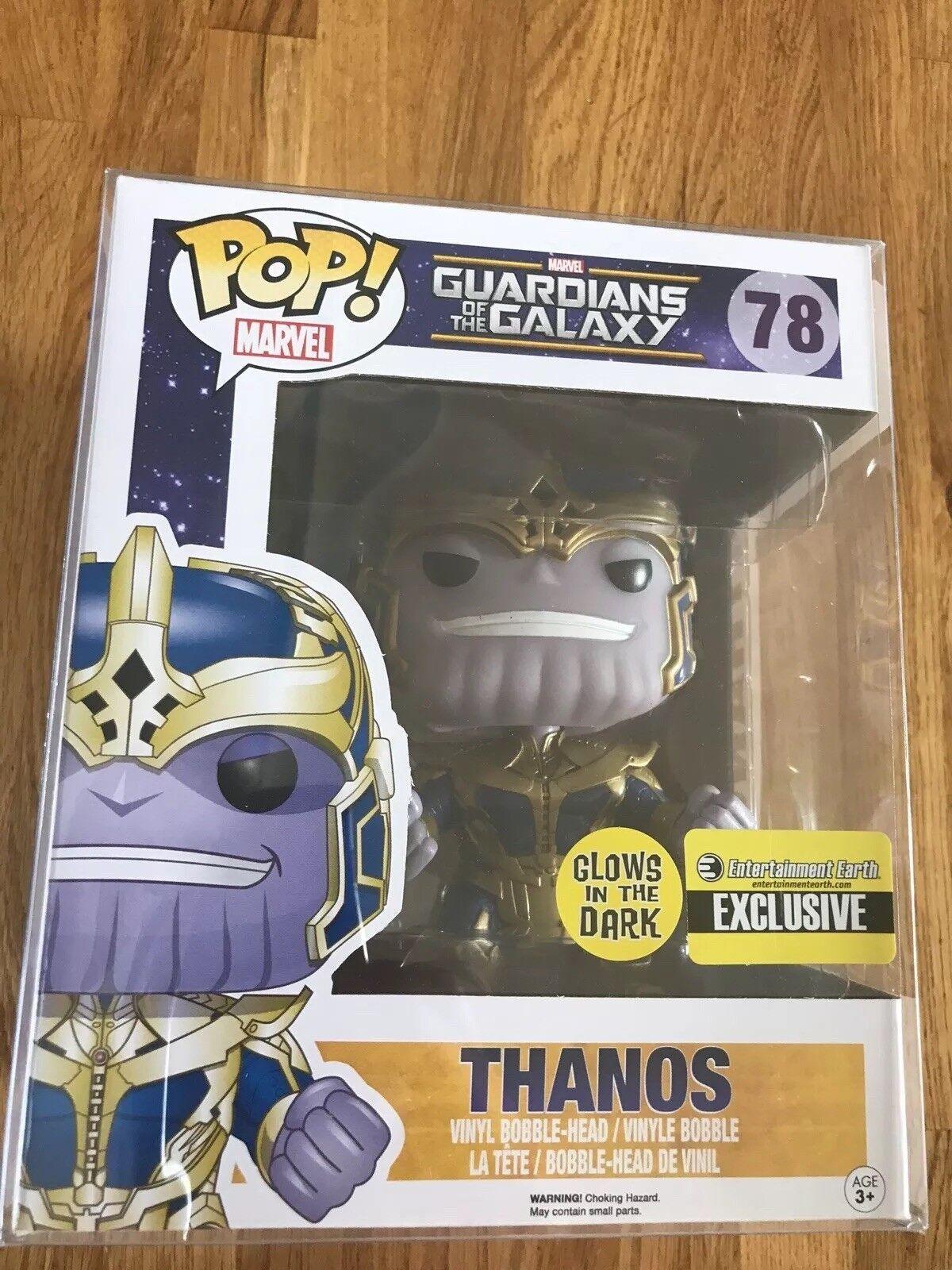 Thanos Funko Pop Glow In The Dark EE Special   78