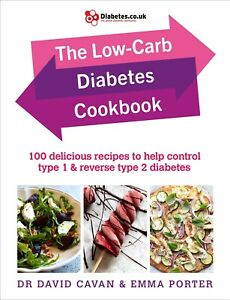 The-Low-Carb-Diabetes-Cookbook-by-Dr-David-Cavan-and-Emma-Porter-signed-copy