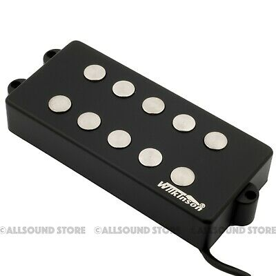 Wilkinson MWM5 Bass Pickup for Music Man Electric Bass Black 5-String Humbucker