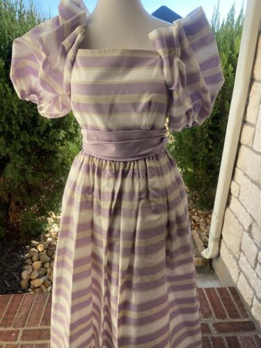 Harry Acton After Five Gown Size 4 Vintage 1970s