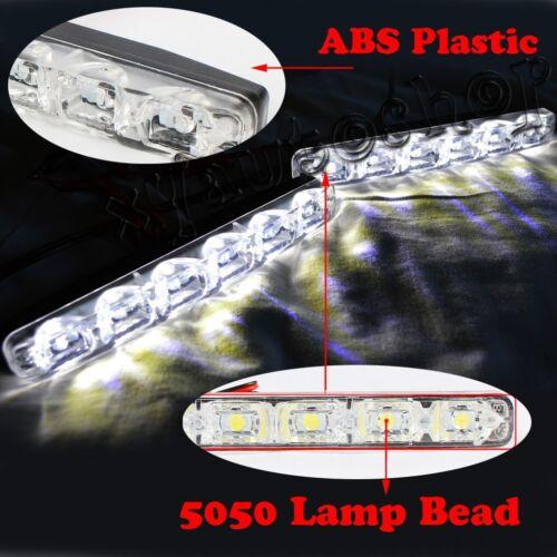 2pcs 6 LED Daytime Running Light DRL Daylight Kit Fog Driving Lights for MAZDA 6