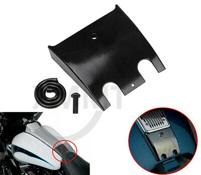 Dash Panel Motorcycle Dash Extension Panel Drag Fuel Tank Cover Fit for FLTR FLTCU I FLHT Black