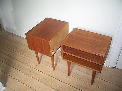 Sengebord, vintage – dba.dk – Køb og Salg af Nyt og Brugt