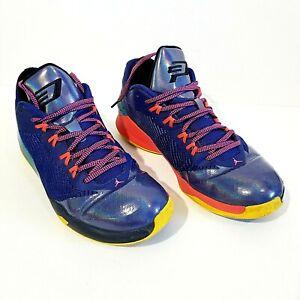 Details about Men\u0027s 13 Jordan CP3.VIII 684855,420 Multi Color Basketball  Sneakers Shoes