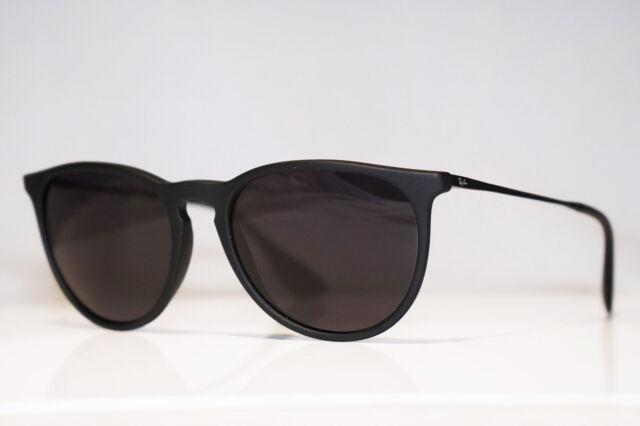 7396a0df5cd34 Ray-Ban Erika Rb4171 622 8g Sunglasses Black Rubber   Grey Gradient ...