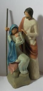 WILLOW-TREE-DEMDACO-034-THE-HOLY-FAMILY-FIGURINE-034-26290-MINT-IN-BOX