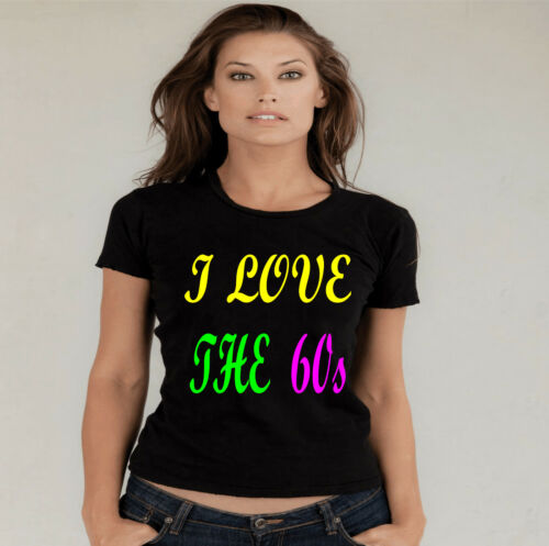 80s.90s normal baggy fit T SHIRT  SMALL TO 3xl I LOVE THE 60s.70s