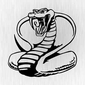 Cobra-Snake-Schlange-Tuner-Tuning-Schwarz-Auto-Vinyl-Decal-Sticker-Aufkleber
